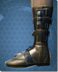 Ardent Blade's Boots - Male Left