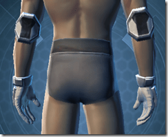 Avenger Handgear - Male Back