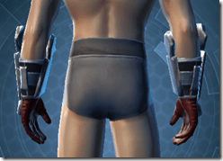 Avenger Handgear - Male Back