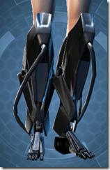 B-100 Cyberbetic Armor Female Boots