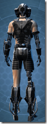 B-100 Cyberbetic Armor - Male Back