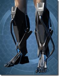 B-100 Cyberbetic Armor Male Boots