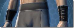 B-100 Cyberbetic Armor Male Bracers