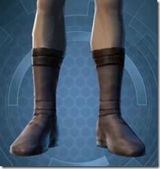 Bantha Hide Footgear - Male Front