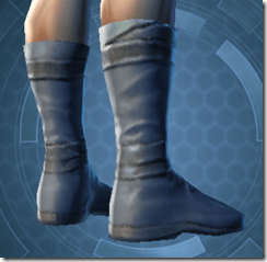 Bantha Hide Footgear - Male Right