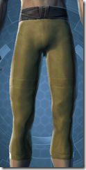 Bantha Hide Leggings - Male Front