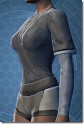 Bantha Hide Vest - Female Left
