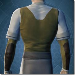 Bantha Hide Vest - Male Back