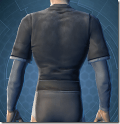 Bantha Hide Vest - Male Back