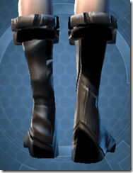 Battlemind's Boots - Female Back