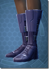 Battlemind's Boots - Female Left
