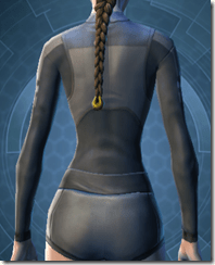 Bolted Body Armor - Female Back