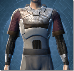 Bolted Body Armor - Male Front