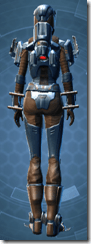 Citadel Hunter - Female Back