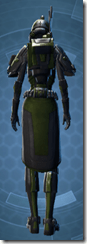 Citadel Trooper - Female Back