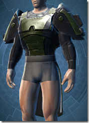Citadel Trooper Male Body Armor
