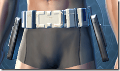 Devoted Allies Med-tech Male Belt