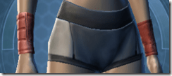 Devoted Allies Targeter Female Armguards