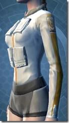 Fort Commander's Chestguard - Female Left