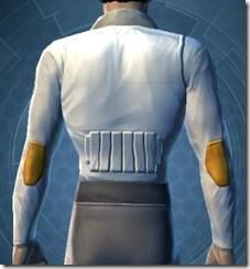 Fort Commander's Chestguard - Male Back