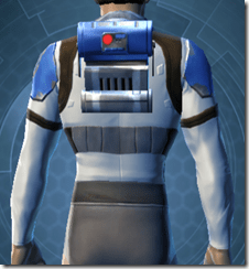 Garnik Infantry Armor - Male Back