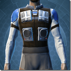 Garnik Infantry Armor - Male Front