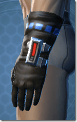 Garnik Infantry Gauntlets - Male Left