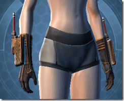 Investigator Female Gloves