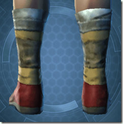 Mining Shoes - Male Back