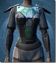 Oiled Jiguna Combat Jacket - Female Front
