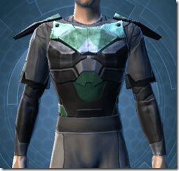 Oiled Jiguna Combat Jacket - Male Front