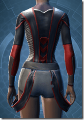 Overseer's Vestments - Female Back
