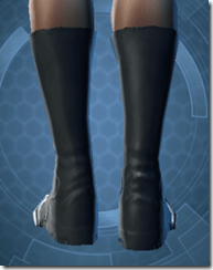 RD-02A Battle Boots - Female Back