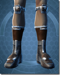 RD-02A Battle Boots - Male Front