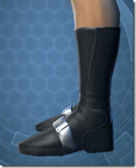 RD-02A Battle Boots - Male Left