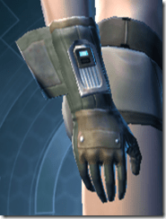 RD-02A Combat Gloves - Female Right