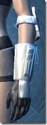 RD-12B War Gauntlets - Female Left