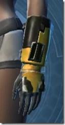 RD-12B War Gauntlets - Female Left
