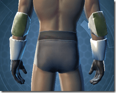 RD-12B War Gauntlets - Male Back