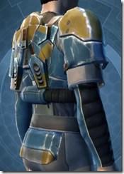 Refurbished Scrapyard Armor - Male Right