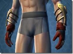 Revanite Avenger Male Gauntlets