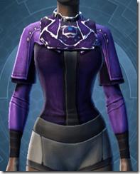 Sith Assailant's Vest Dyed