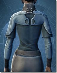 Sith Assailant's Vest - Female Back
