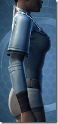 Sith Assailant's Vest - Female Right