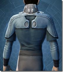 Sith Assailant's Vest - Male Back