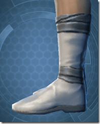 Synthleather Kneeboots - Male Left