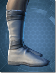 Synthleather Kneeboots - Male Right