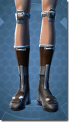 TD-02A Battle Boots - Female Front
