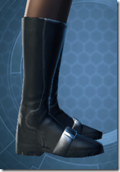TD-02A Battle Boots - Female Right