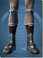 TD-02A Battle Boots - Male Front